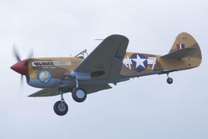 Curtiss P-40F Warhawk Flying Legends 2015 - 01