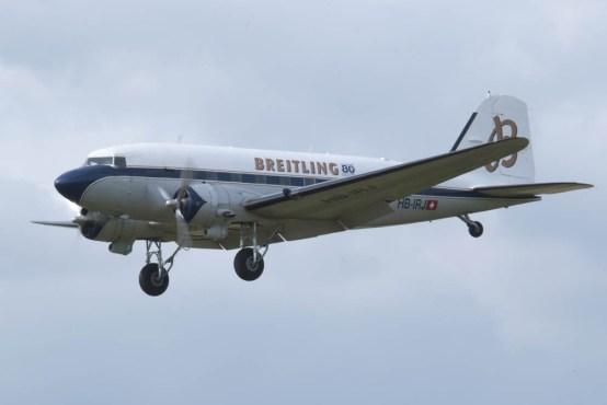 Douglas DC-3 HB-IRJ - 05 Flying Legends 2015