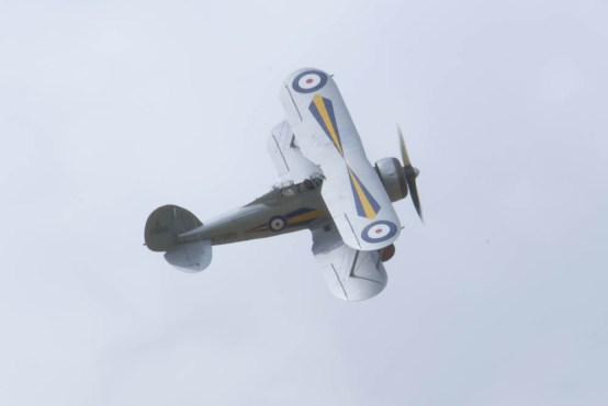 Gloster Gladiator Flying Legends 2015 - 01