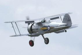 Gloster Gladiator K7985 Flying Legends 2015 - 01