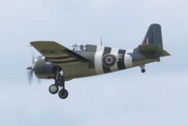 Grumman FM-2 Wildcat G-RUMW Flying Legends 2015 - 02