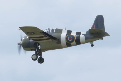 Grumman FM-2 Wildcat G-RUMW Flying Legends 2015 - 02