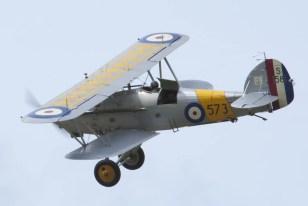 Hawker Nimrod S1581 Flying Legends 2015 - 01