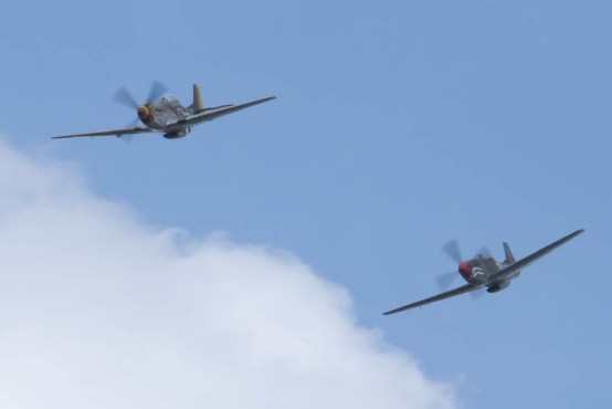 North American P-51 Mustang Flying Legends 2015