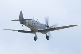 Spitfire Mk VIIIc MT928 Flying Legends 2015