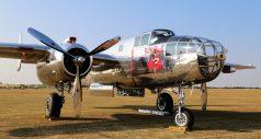 B-25J-35 Mitchell 44-86893 (Photo © Peter R. Arnold)