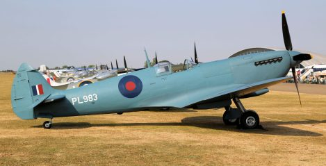 Spitfire PR Mk XI PL983 G-PRXI (Photo © Peter R. Arnold)