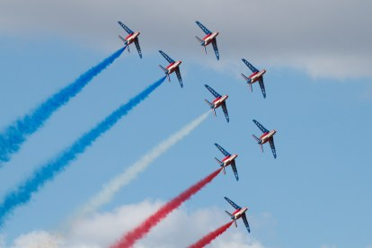 Patrouille de France (Photo Terry Kavanagh (CC BY 2.0))