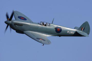 Spitfire PR Mk XI PL983 G-PRXI (Photo © Daniel Wales)