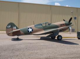P-40E '41-25163' (photo © James Stemm)