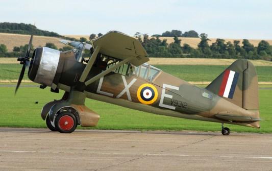 Westland Lysander Mk III V9312 G-CCOM © Fred Taylor