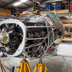 Hawker Hurricane Mk I V7497 G-HRLI © Huw Hopkins