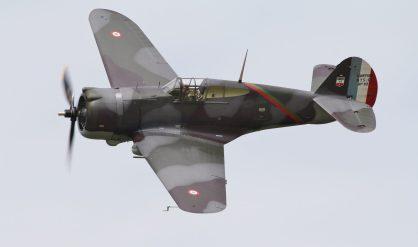Curtiss H-75 n°82 G-CCVH ( Photo © Benjamin Gilbert )
