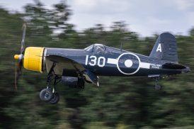 Le FG-1D G-FGID de The Fighter Collection ( Photo © Damien Defever )