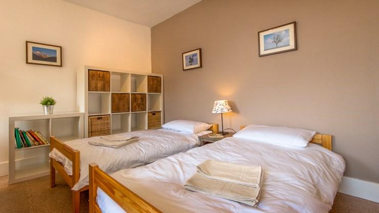 Ruime slaapkamers met badkamer voor bed and breakfast