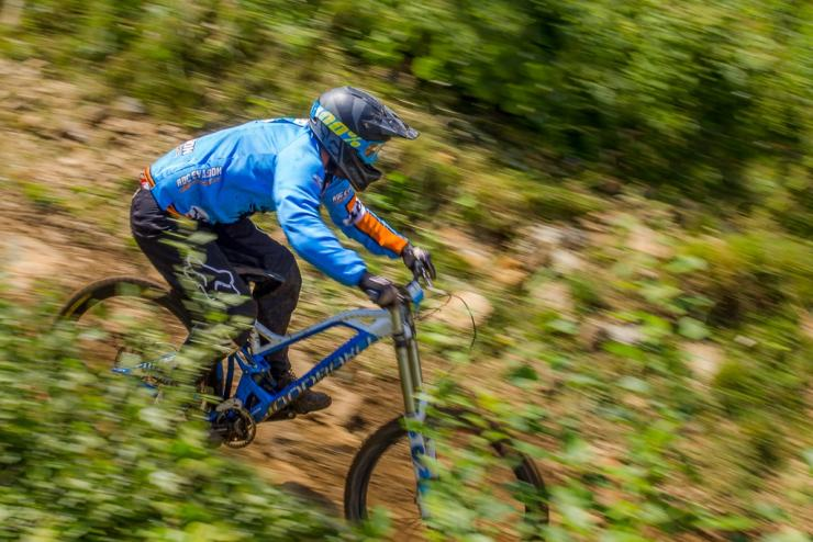 Mountainbiken in Unzen