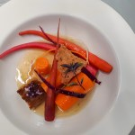 A plate of carrots