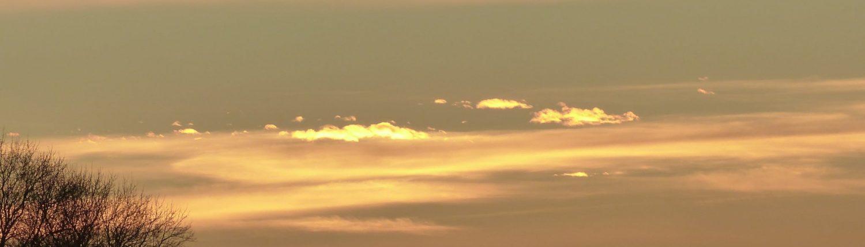 Un coucher de soleil exceptionnel en aux Arcs sur Argens...
