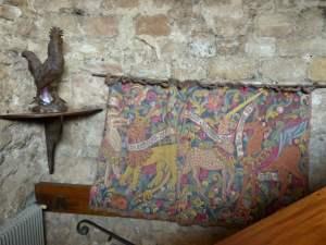 Un cadre médiéval à souhait pour le Logis du Guetteur.