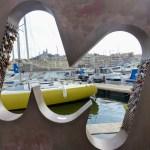 Vue artistique de Marseille.