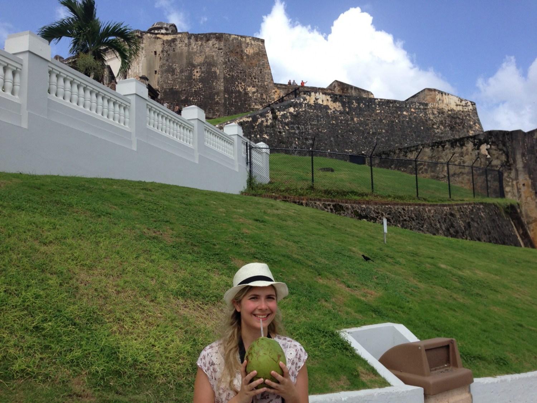 Les noix de coco fraîches à San Juan, un délice !