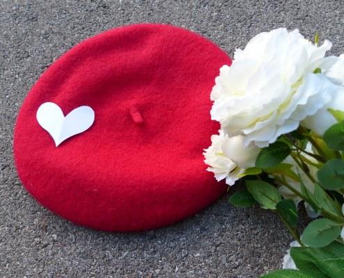 Une Saint Valentin tout en délicatesse et rouge passion.