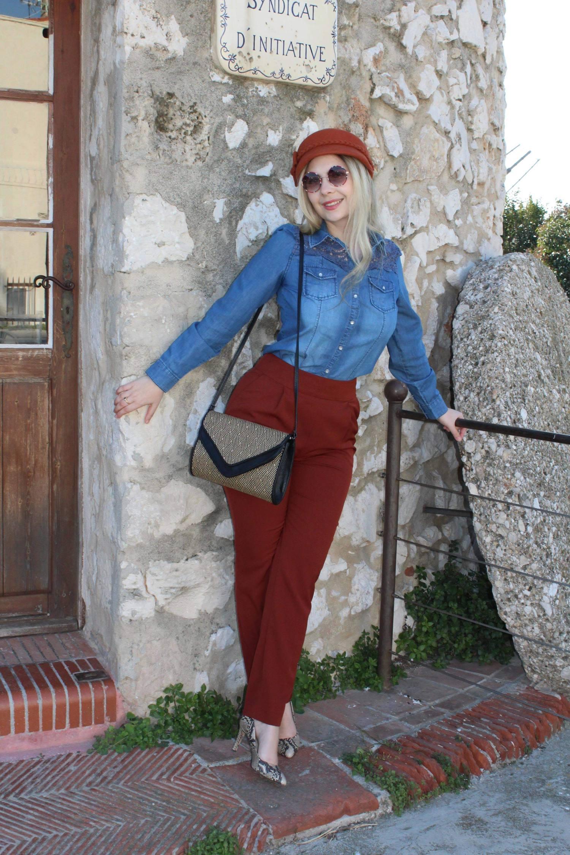 Un pantalon qui sublime la silhouette en un clin d'oeil.