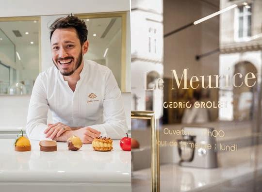 Ouverture : Cédric Grolet ouvre la Pâtisserie du Meurice - Le Chef