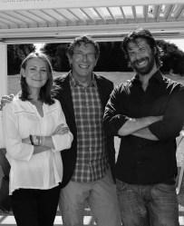 Audrey, Jean-Louis et Charles Castel