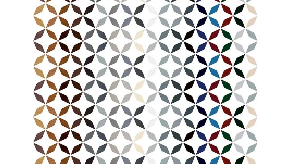 mosaique couleurs Veka