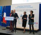 Le ministre François de Rugy avec, de gauche à droite, Brune Poirson, Elisabeth Borne et Emmanuelle Wargon, le 27 novembre dernier lors de la présentation de la PPE.