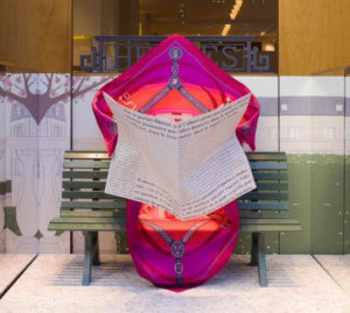 Hermès-vitrine