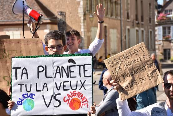 marche des jeunes pour le climat les