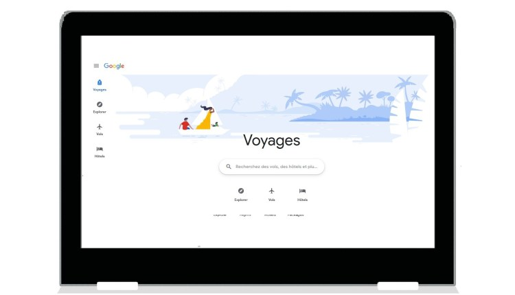 Au revoir Google Trips, bonjour Google Voyages
