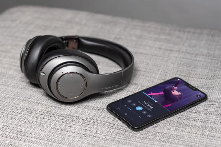 Casti Kruger&Matz cu Bluetooth 5.0