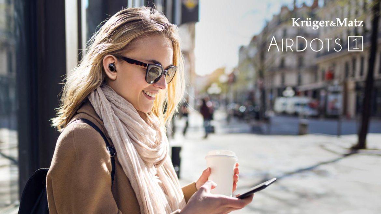 Casti wireless in ear Kruger&Matz Air Dots 1