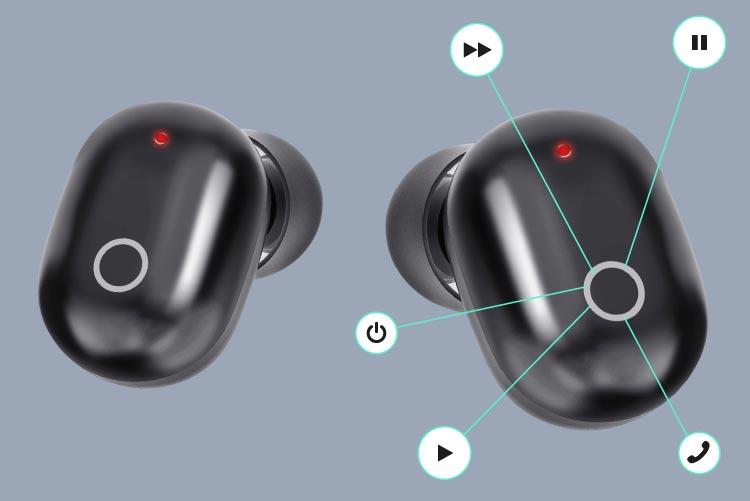 Control usor cu un buton Kruger&Matz