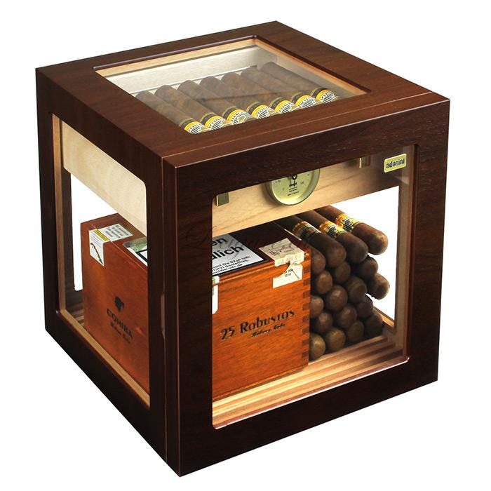 Cave Cigares Adorini Cube Deluxe Noyer