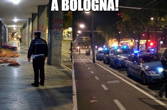 Coalizione Civica per Bologna: Reato di povertà, anche a Bologna le prime condanne. Con soddisfazione dell'Amministrazione Merola