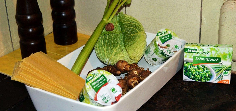 Topinambur-Wirsing-Lasagne: der Geheimtipp