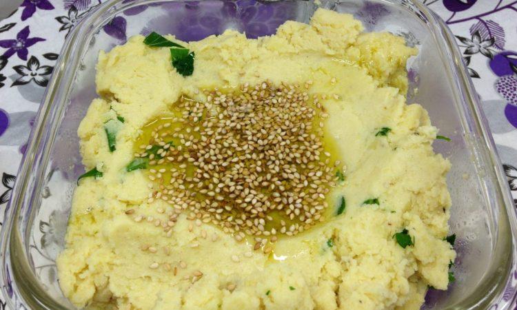 Arabischer Kartoffel Sesam Dip – Msahbaha Batata