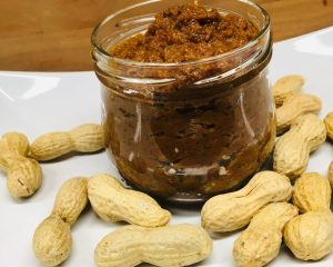 Sambal Kecang: indonesische Erdnuss Saté Sauce
