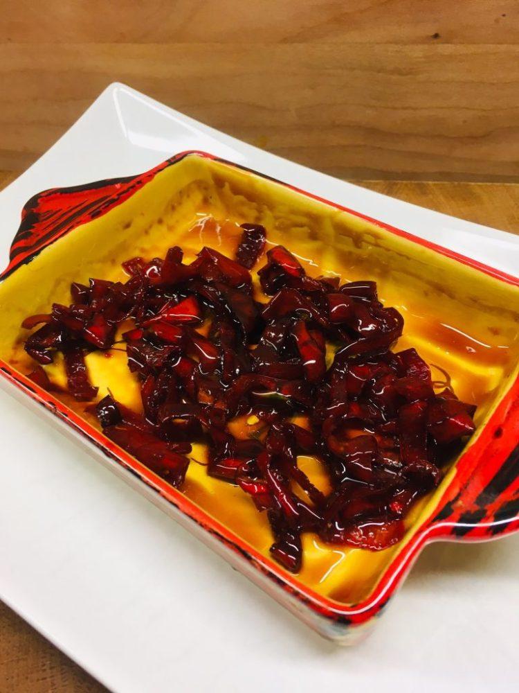 Karamellisierte Chilis