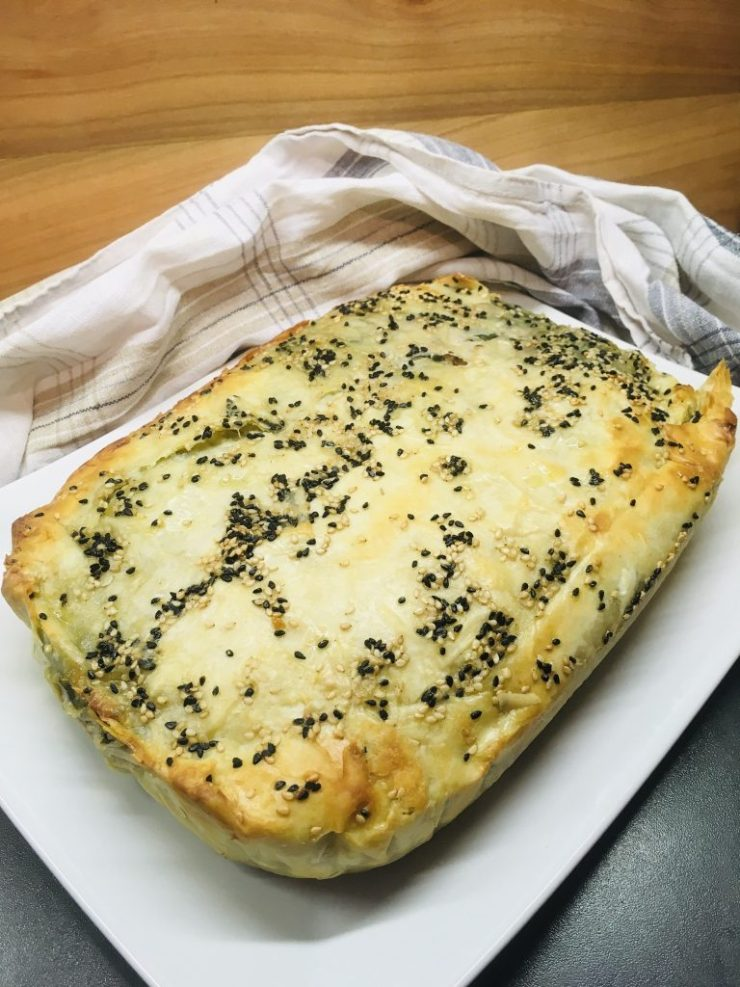 Spanakopia - Griechischer Spinat-Feta Auflauf