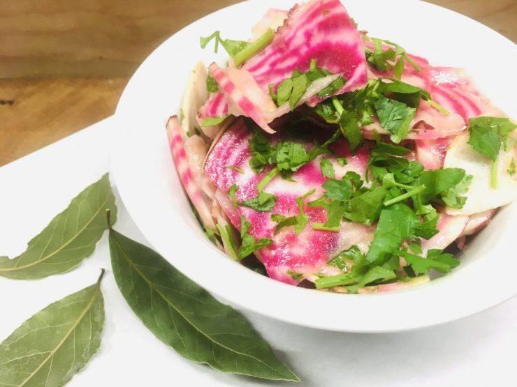 Ringel Bete Salat mit Honig Senf Dressing