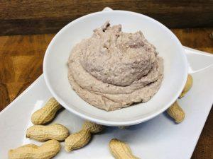 Adzuki Bohnen Hummus mit Erdnussbutter