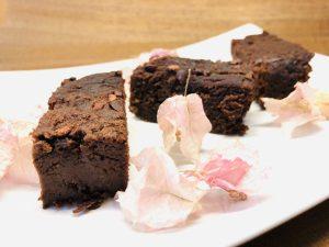 Adzuki Bohnen Brownies