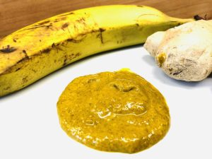 Bananen Curry Dip mit Ingwer und Orange