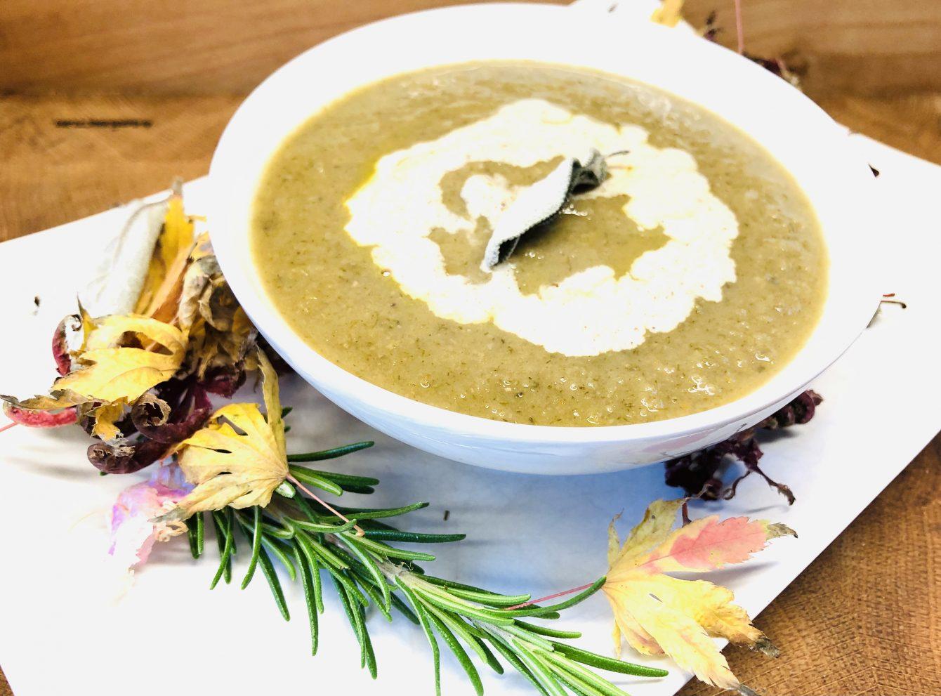 Korsische Kastanien Suppe