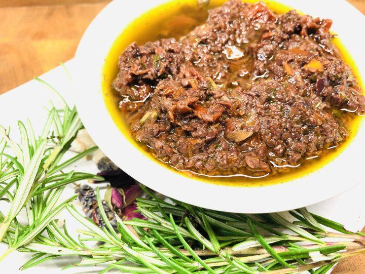 Vegane Salsa Etrusca Pasta Sauce